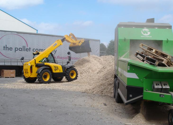 Wood Waste Recycling | The Pallet Company